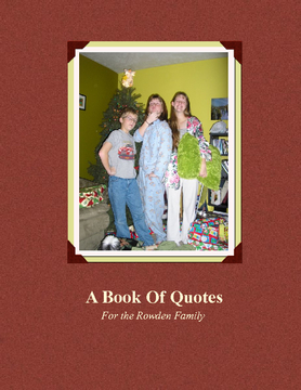 A Book of Quotes