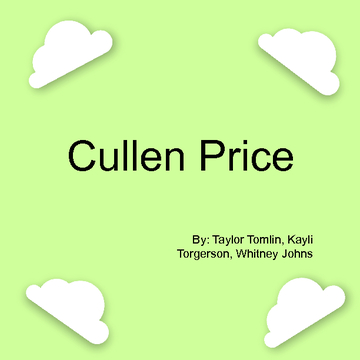 Cullen Price