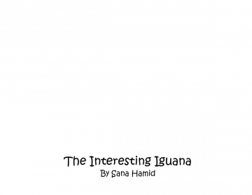 The Interesting Iguana
