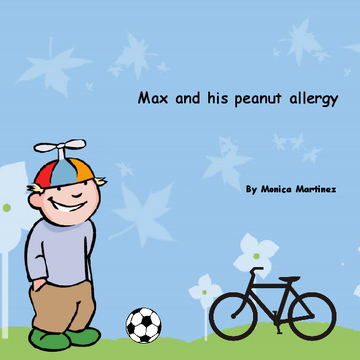 Max and his peanut allergy