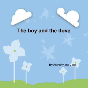 The boy and the dove