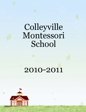 Colleyville Montessori Yearbook