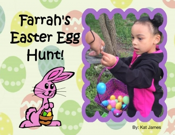 Farrah's Easter egg hunt 2016