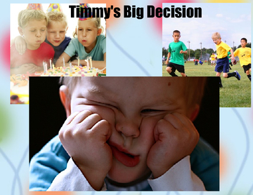 Timmy's Big Decision