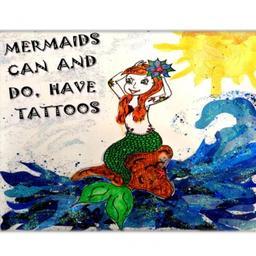 Mermaids Can and Do Have Tattoos