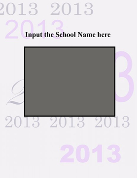 Yearbook Template 2