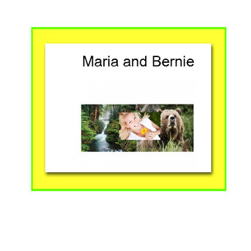 Maria and Bernie