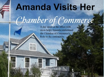 Amanda Visits Her Chamber of Commerce