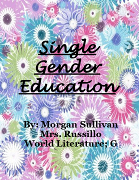 Single Gender Education