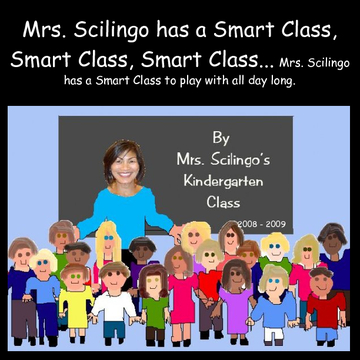 Mrs. Scilingo has a smart class...