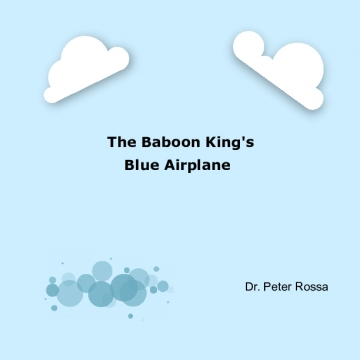 Baboon King's Blue Airplane