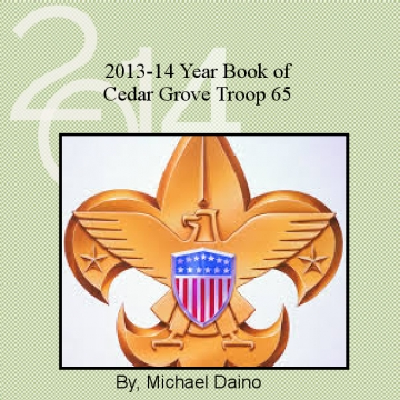 Troop 65 2013-14 Yearbook