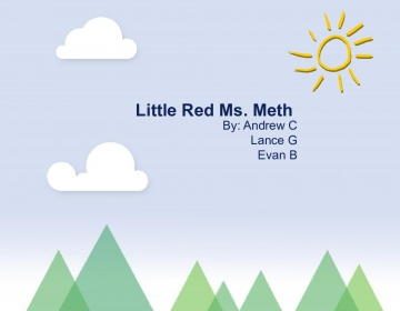 Little Red Ms. Meth
