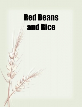 TonI Morrison & Red Beans and Rice