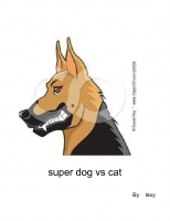 super dog vs cat