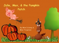 Julie, Max, and the Pumpkin Patch