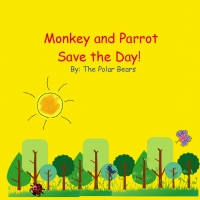 Monkey and Parrot Come to the Rescue