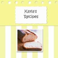 Kayla's recipes book