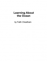 Learning About the Ocean