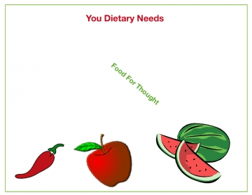 Your Dietary Needs