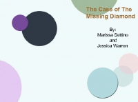 The Case of The Missing Diamond