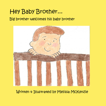 Hey Baby Brother...Big brother welcomes his baby brother