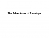 The Adventures of Penelope