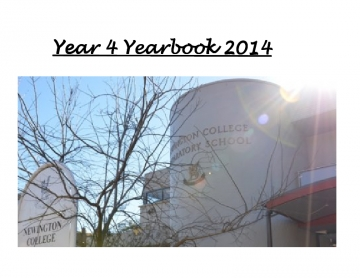 Y4 Yearbook 2014