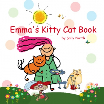 Emma's Kitty Cat Book-shirt