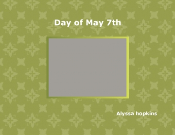 Day of May 7th