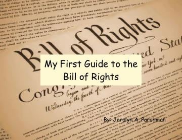 My First Guide to the Bill of Rights