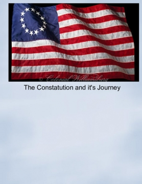 The Constitution and it's Journey