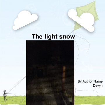 The light snow