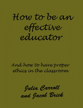 How to be an effective educator