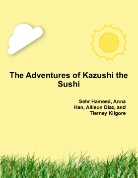The Adventures of Kazushi the Sushi
