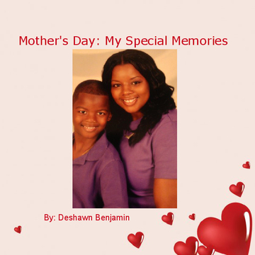 Deshawn Benjamin Mother's Day Book