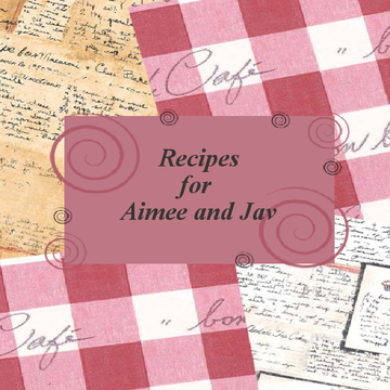 Aimee's Recipe Book