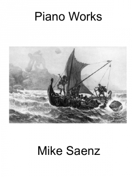 Mike Saenz - Piano Works