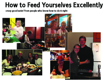 How to Feed Yourselves Excellently