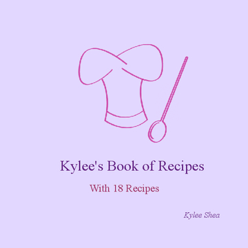 Kylees Book of Recipes
