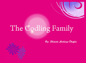 THE CODLING FAMILY