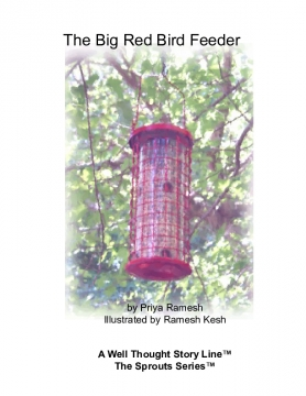 The Big Red Bird Feeder