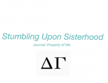 Stumbling Upon Sisterhood