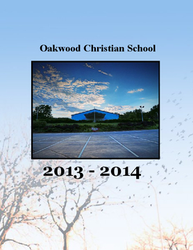 Oakwood Christian School  Yearbook