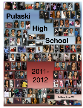 Pulaski High School Yearbook 2011-2012 hardcover