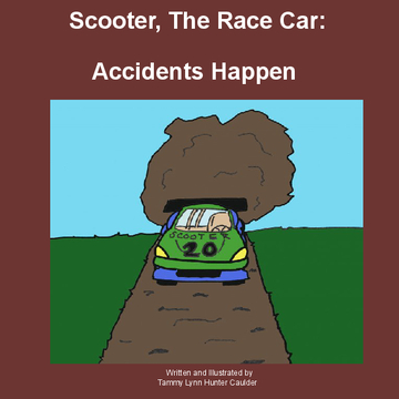 Scooter, The Race Car: Accidents Happen