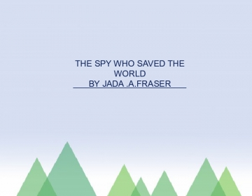 the spy who saved the world