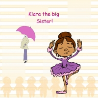 Kiara the big sister!