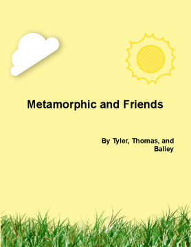 Metamorphic and friends