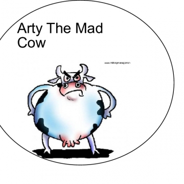 Arty The Mad Cow
